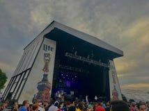 Festival Pier Philadelphia Fotografering för Bildbyråer