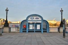 Festival Pier river Thames London Stock Image