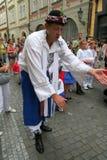 Festival Praga Fair1 di folclore Immagine Stock