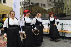Festival Prague6 di folclore Fotografia Stock