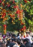 Festival que desea bien en Hong Kong Fotografía de archivo