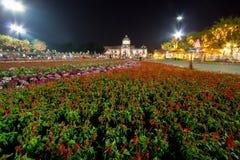 Festival real del invierno, ` de Oon Ai Rak Klay Kwam Nao del `, plaza real, palacio y PA de Sanam Suea, Bangkok, Tailandia de Du Fotos de archivo libres de regalías