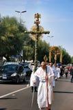 Festival religioso católico el 27 de septiembre en Civitavecchia Fotografía de archivo libre de regalías