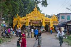 Festival religioso en pueblo Fotos de archivo libres de regalías