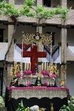 Festival religioso Granada Immagini Stock