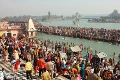 Festival religioso Makar Sankranti en la India imagenes de archivo