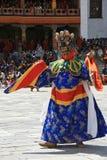 Festival religioso - Thimphu - Bhutan Fotografie Stock Libere da Diritti