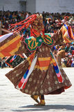 Festival religioso - Timbu - Bhután Imagen de archivo libre de regalías
