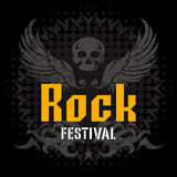 Festival rock illustrazione di stock