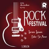 Festival rock Immagini Stock
