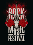 Festival rock music Stock Image