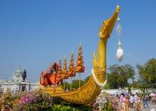 Festival royal d'hiver, Ordonnateur national de l'ONU AI Rak Khlai Khwam, à la plaza, au palais de Dusit et à la PA royaux de San Photos stock
