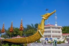 Festival royal d'hiver, Ordonnateur national de l'ONU AI Rak Khlai Khwam, à la plaza, au palais de Dusit et à la PA royaux de San Photographie stock