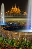Festival royal d'hiver, Ordonnateur national de l'ONU AI Rak Khlai Khwam, à la plaza, au palais de Dusit et à la PA royaux de San Image stock