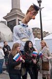 Festival ruso de Maslenitsa Fotografía de archivo