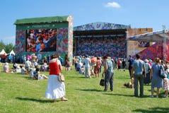 Festival ruso del campo en el parque de Tsaritsyno Fotos de archivo