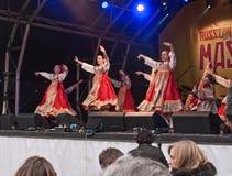 Festival russe de Maslenitsa Photos libres de droits