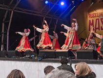 Festival russo di Maslenitsa Fotografie Stock Libere da Diritti