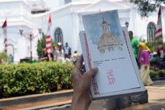 FESTIVAL Samarang di CITTÀ VECCHIA Fotografie Stock Libere da Diritti