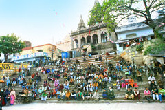 Festival Save Ganga, Assi Ghat, Varanasi, India Royalty Free Stock Photo