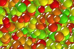 Festival scales and bubbles tiling design Royalty Free Stock Images