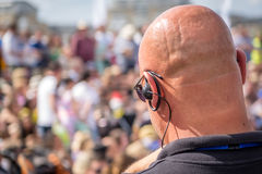 Festival security Royalty Free Stock Photography