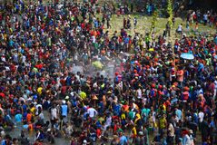 Festival Serayu di interstizio di Iwak Fotografia Stock Libera da Diritti