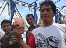 Festival Serayu di interstizio di Iwak Fotografie Stock Libere da Diritti