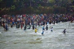 Festival Serayu do interstício de Iwak Foto de Stock Royalty Free