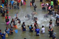 Festival Serayu do interstício de Iwak Fotos de Stock Royalty Free