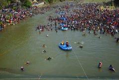 Festival Serayu do interstício de Iwak Imagem de Stock Royalty Free