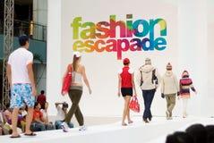 festival singapore för 2008 mode Arkivfoto