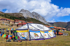 Festival sob o Mt Zaga Imagens de Stock Royalty Free