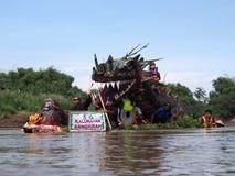 Festival solo di Bengawan Immagine Stock