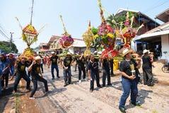 Festival Songkran border Thailand - Laos 2017. Festival Songkran Thailand - Laos 2017 at herng river border loei thailand and bortan chaiyabulee Laos 10 April Royalty Free Stock Photography