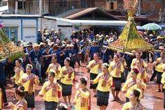 Festival Songkran border Thailand - Laos 2017. Festival Songkran Thailand - Laos 2017 at herng river border loei thailand and bortan chaiyabulee Laos 10 April Royalty Free Stock Photo
