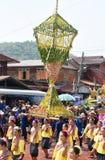 Festival Songkran border Thailand - Laos 2017 Stock Image
