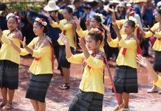 Festival Songkran border Thailand - Laos 2017. Festival Songkran Thailand - Laos 2017 at herng river border loei thailand and bortan chaiyabulee Laos 10 April Royalty Free Stock Image
