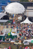 Festival Square Royalty Free Stock Photography