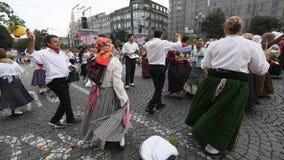 Festival of St John Festa de Sao Joao. stock video footage