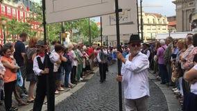 Festival of St John Festa de Sao Joao. stock footage