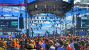 Festival stage Royalty Free Stock Photos