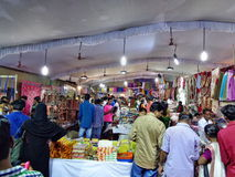Festival store in Kerala Royalty Free Stock Photo