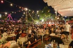 Festival superbe de Loi-Krathong de fullmoon Images stock