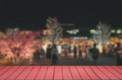 festival superior de madera de la comida de la falta de definición de la tabla imagen de archivo libre de regalías
