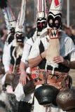 Festival Surva do disfarce em Pernik imagens de stock