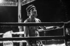 Festival tailandés de los boxeadores imagen de archivo libre de regalías
