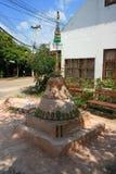 Festival tailandês do songkrand do pagode da areia Fotografia de Stock Royalty Free