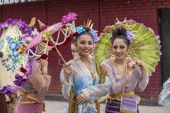 Festival tailand?s de Songkran del A?o Nuevo imagenes de archivo