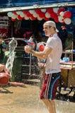 Festival tailandese di nuovo anno Immagine Stock Libera da Diritti